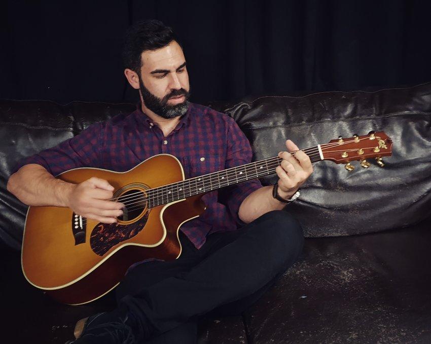 Matt Foti acoustic guitar